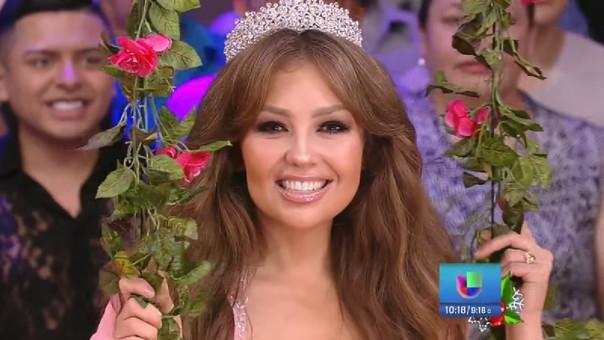 Thalía se viste de quinceañera y presenta documental sobre tradicional fiesta
