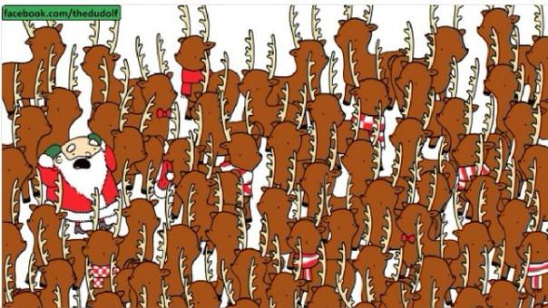 Encuentra al oso entre los venados