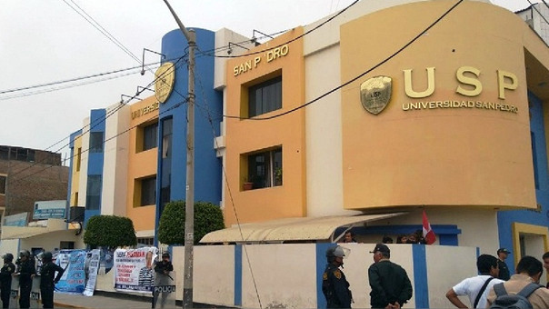 Oficinas de la Universidad San Pedro