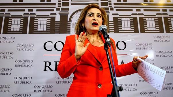 Maritza García representa a Piura en el Congreso.