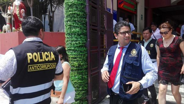 Fiscal anticorrupción,  Carlos Roncal Cansino.
