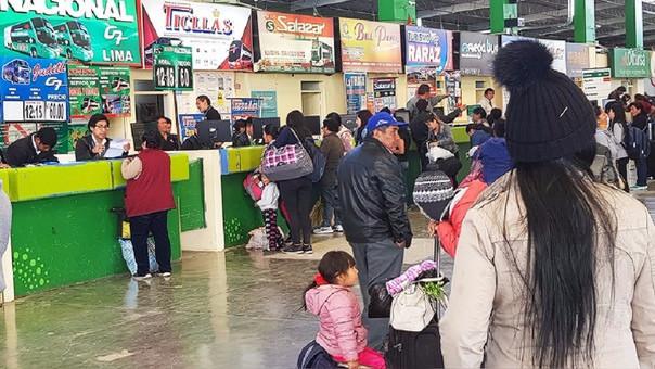 Huancayo, terminal