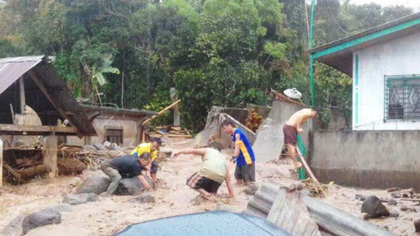 Filipinas: Al menos 126 muertos por tormenta tropical Tembin
