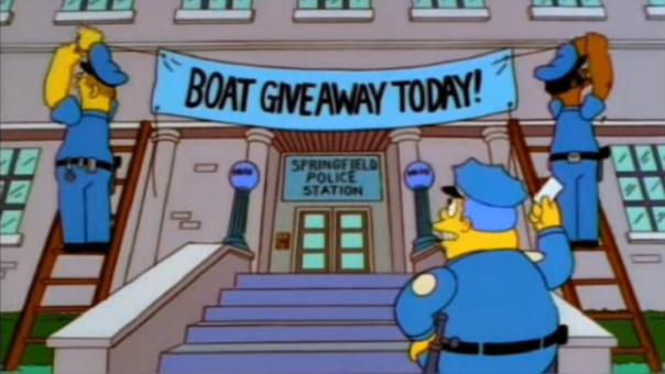 Policía atrapó a ladrones con un truco visto en Los Simpsons