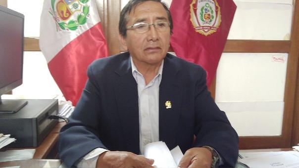 Subprefecto de la provincia del Santa, Nelson Atincona Herrera.