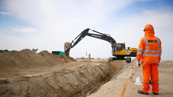 Los indicadores del sector construcción muestran importantes mejoras en octubre.