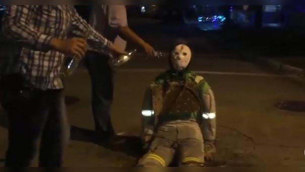 Quienes quemen muñecos en Cajamarca, serán multados con 2,025.00 soles, además serán denunciados por daños al medio ambiente