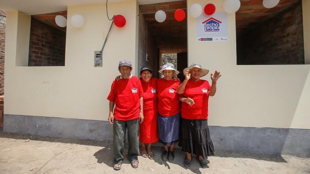 El beneficio es en la modalidad construcción en sitio propio a favor de más de 11 mil familias damnificadas.