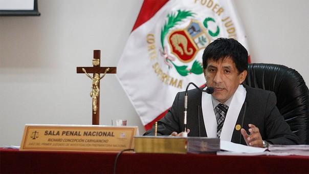Carhuancho dictó prisión preventiva a los expresidentes Alejandro Toledo y Ollanta Humala.