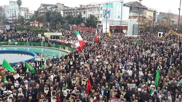 Autoridades confirman dos muertos en protestas en Irán