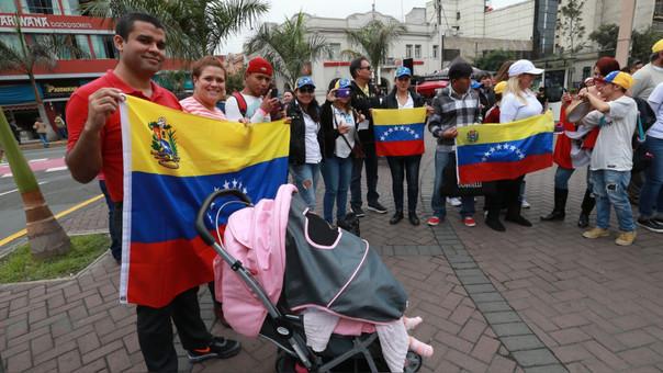Más de 21000 venezolanos formalizaron su condición migratoria en Perú