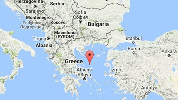Se registra en Grecia un terremoto de magnitud 5,0