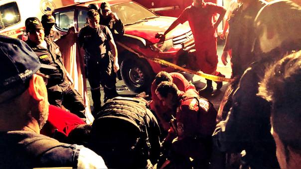 Solo sobrevivieron seis de los 54 ocupantes del vehículo de la empresa San Martín de Porres.