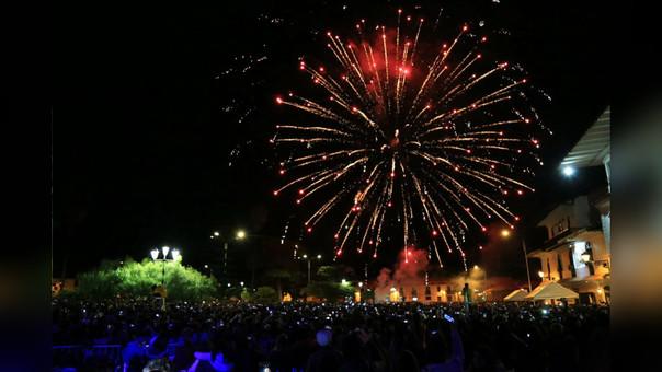 Con diferentes actividades se festeja el aniversario número 164° de la independencia de Cajamarca
