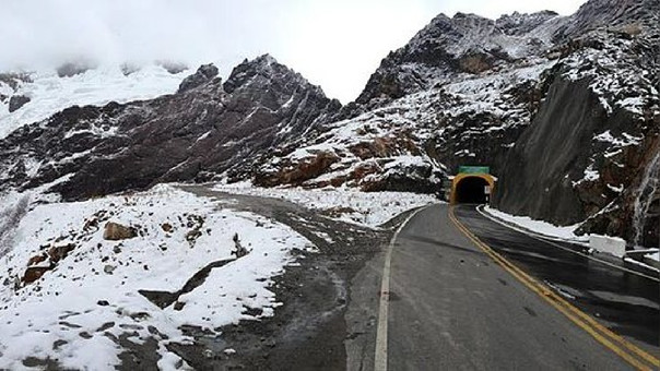 El túnel de Cahuish se ubica sobre los 4 mil msnm.