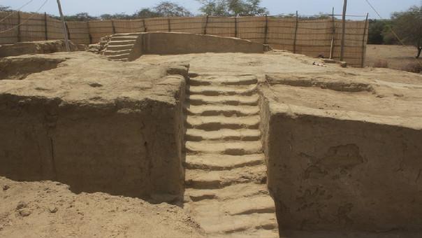 Descubren plataforma mochica de 1500 años de antigüedad — Lambayeque