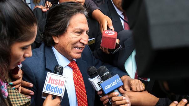 Toledo acusa al fujimorismo de usar el Caso Odebrecht en su contra