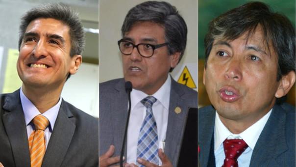 Alejandro Neyra, Abel Salinas Rivas y José Arista formarán parte del nuevo gabinete.