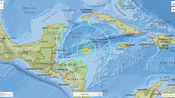 Tiembla en Honduras y se percibe en QRoo