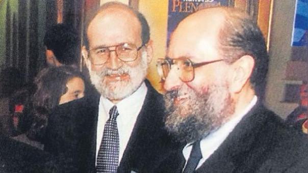 Germán Doig y Luis Figari, ambos acusados de haber abusado sexualmente de adolescentes.