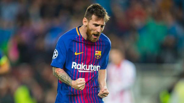 Anotó un doblete en la victoria del Barsa — Messi imparable