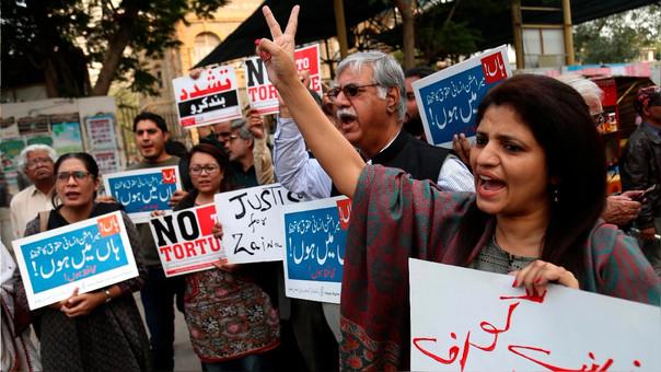 El crimen contra Zainab Ansari ha indignado a Pakistán.
