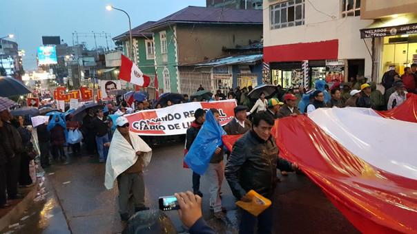 Marcha contra el indulto