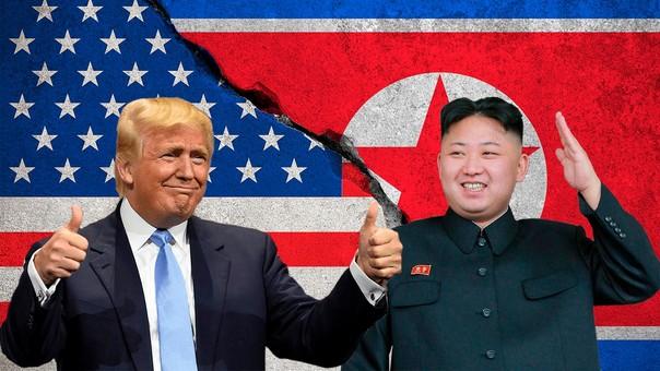 Dondal Trump y Kim Jong-un.
