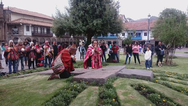 Organizaciones sociales y culturales de Cusco enviaron carta en la que piden al santo padre que el antiguo templo inca sea dispuesto para realizar ritos andinos