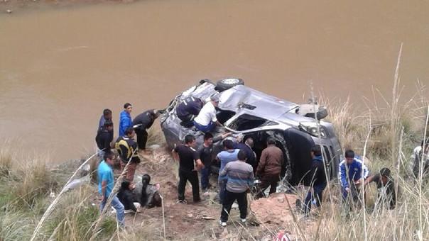 Accidente de tránsito también dejó once heridos.