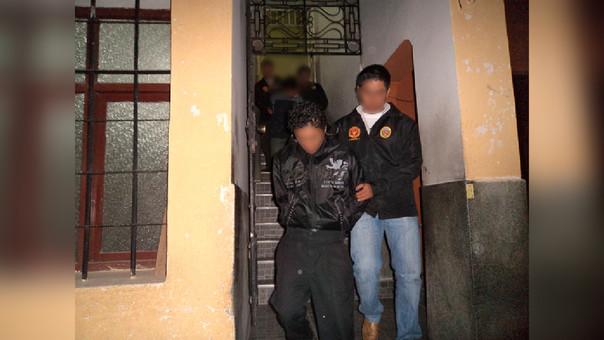 Germán Tongo  espacó del penal de Cajamarca en 1998