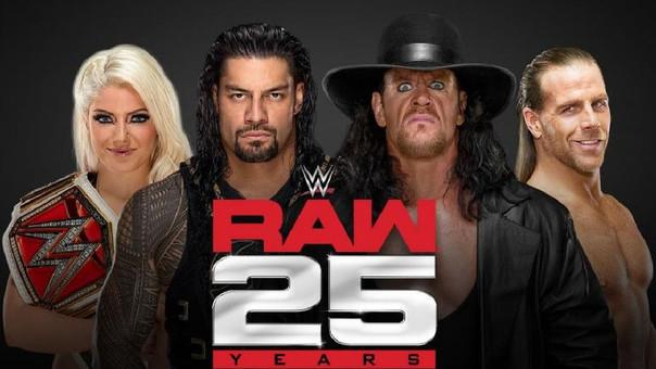 RAW 25 años