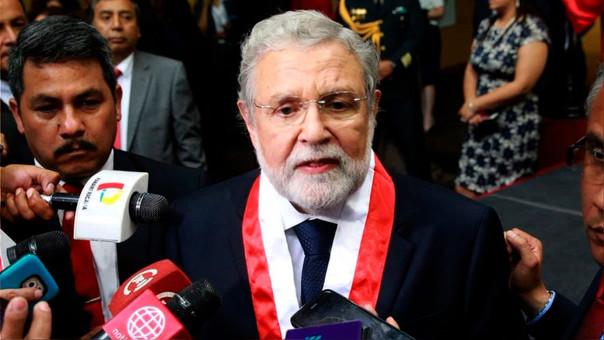 Blume juró como presidente del Tribunal Constitucional el pasado 4 de enero.