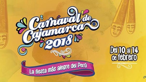 Afiche del carnaval cajamarquino