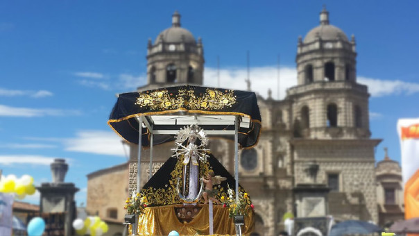 Agentes de la Policía Nacional resguradarán la sagrada imagen en su viaje a la ciudad de Trujillo