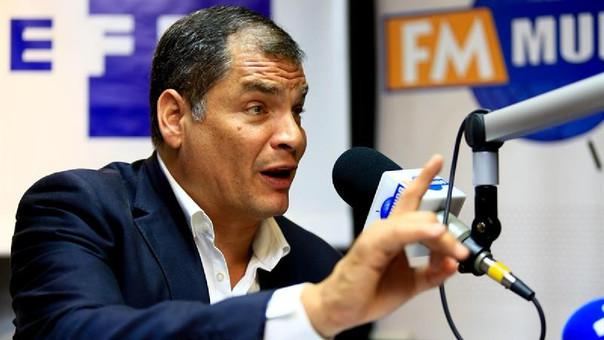 Rafael Correa se desafilia del movimiento Alianza PAIS
