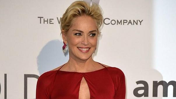 Sharon Stone reaccionó con carcajada a pregunta sobre acoso sexual