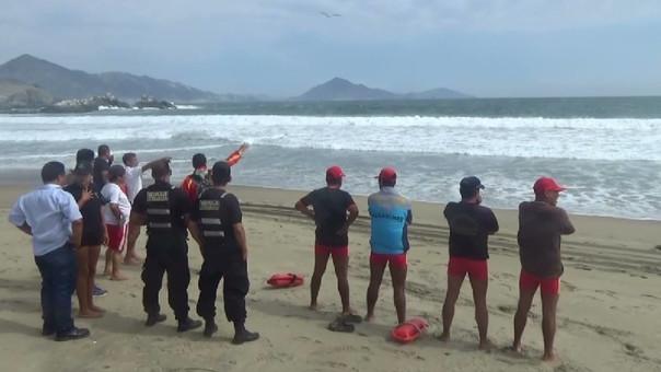 Buscan intensamente  a jovenes desaparecidos en playa de Áncash