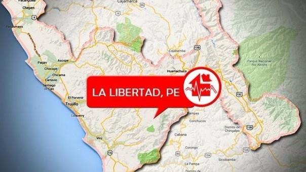 Sismo en La Libertad.