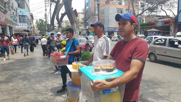 Venezolanos en la ciudad de Chiclayo