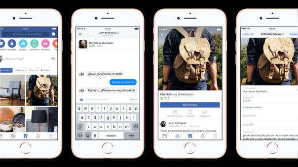 Las conversaciones previas a la compra se podrán realizar en Facebook Messenger.