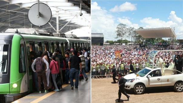 Este domingo en la base aérea Las Palmas, para estar más cerca de los fieles, el Papa Francisco hará un recorrido en el papamóvil por la explanada del recinto durante unos 30 minutos.