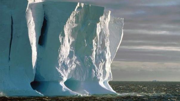 El cambio climático amenaza la Antártida.