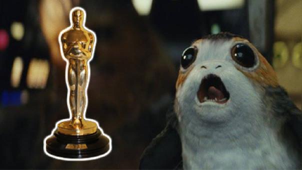 'Star Wars: The Last Jedi' y 'La Bella y la Bestia' fueron nominadas en la categorias técnicas.