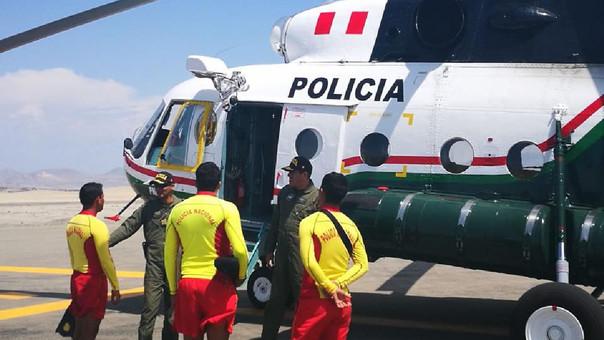 Se inicia busqueda aérea de jovenes desaparecidos en playa Atahualpa
