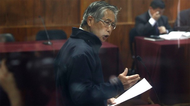 Alberto Fujimori recibió el indulto humanitario y la gracia presidencial el 24 de diciembre de 2017.