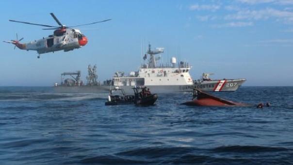 Dos personas fallecidas tras colisión de navíos en mar de Sechura
