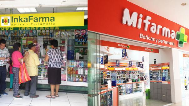 Intercorp, dueña de Inkafarma, compra Quicorp, duerña de Mifarma, Fasa y BTL, entre otras cadenas de farmacias.