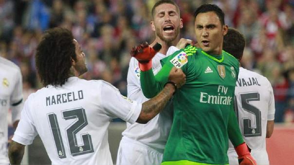 El enojo de Karim Benzema en la goleada del Real Madrid