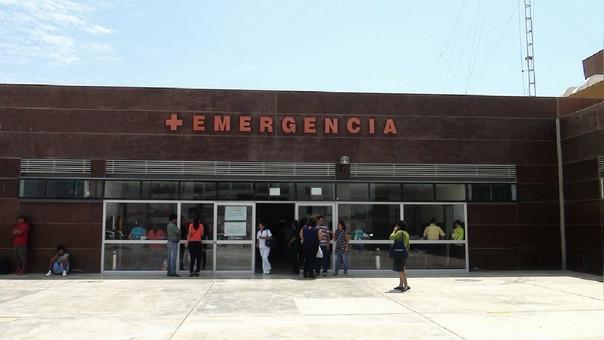 En Hospital Regional Lambayeque murió el hombre